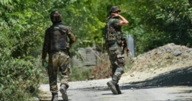 Five soldiers including an army JCO were martyred in an encounter with terrorists in Jammu, two terrorists were killed