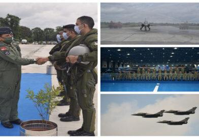 सुनिश्चित किया जायेगा कि विरोधी हमेशा वायु सेना की उपस्थिति से भयभीत रहे: एयर चीफ मार्शल आरकेएस भदौरिया