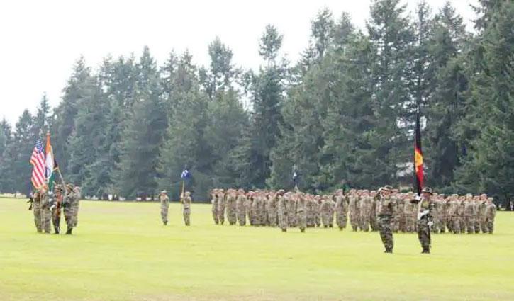 "Indo-US begins training exercise ""Pre-War Exercise"" at Elmendorf Richardson Joint Base, Alaska"